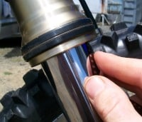How To Clean And Repair Leaking Fork Seals On Your Dirt Bike