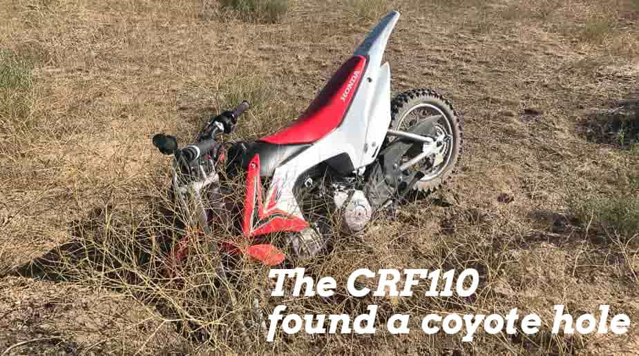 Honda CRF110 Vs The Kawasaki KLX110 And The Yamaha TTR110